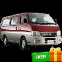 Nissan Urvan Estate Red