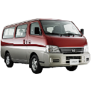 Nissan Urvan Estate Red