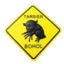 Tarsier Road Sign